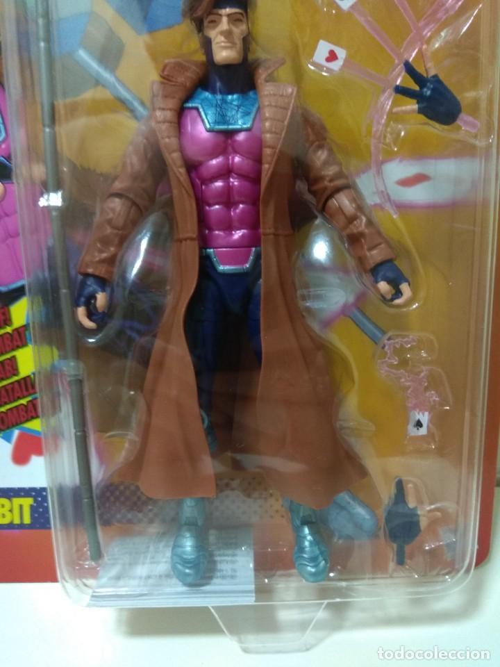 Figuras y Muñecos Marvel: Marvel Legends. Gambito/Gambit. The Uncanny X-Men. Nuevo sin abrir. - Foto 4 - 269445158