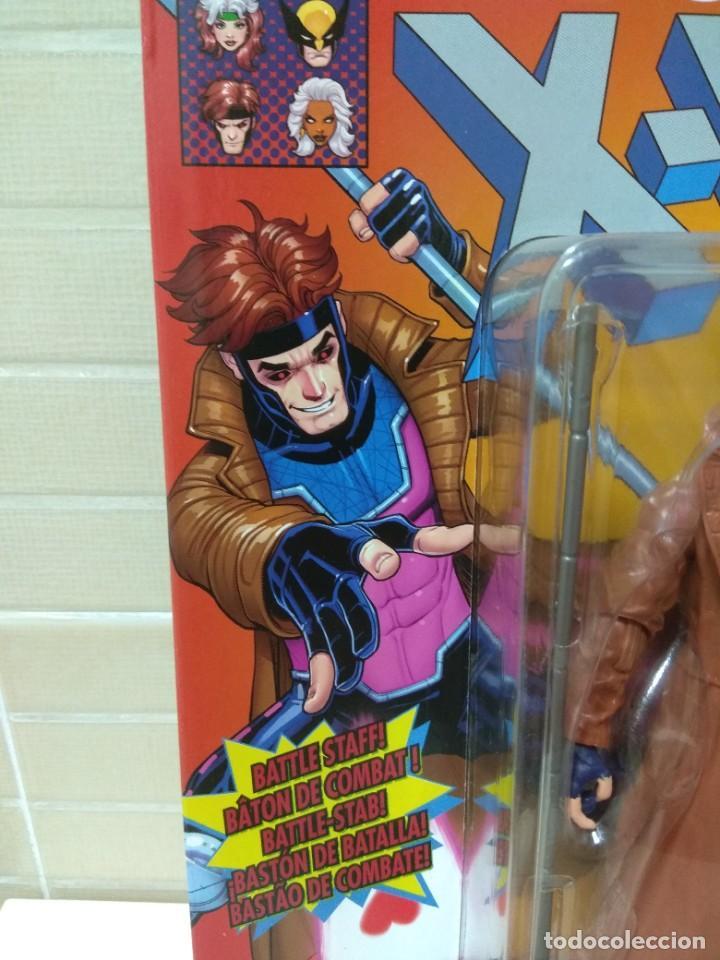 Figuras y Muñecos Marvel: Marvel Legends. Gambito/Gambit. The Uncanny X-Men. Nuevo sin abrir. - Foto 5 - 269445158