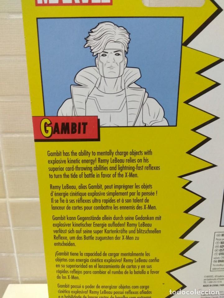 Figuras y Muñecos Marvel: Marvel Legends. Gambito/Gambit. The Uncanny X-Men. Nuevo sin abrir. - Foto 7 - 269445158