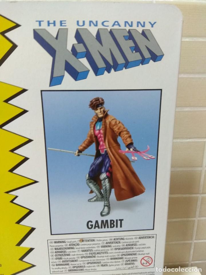 Figuras y Muñecos Marvel: Marvel Legends. Gambito/Gambit. The Uncanny X-Men. Nuevo sin abrir. - Foto 8 - 269445158