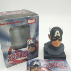 Figuras y Muñecos Marvel: BUSTO CAPITAN AMERICA CON CERTIFICADO. Lote 269749658