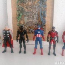 Figuras y Muñecos Marvel: LOS VENGADORES HASBRO MARVEL LOTE DE 5 FIGURAS. Lote 269966353