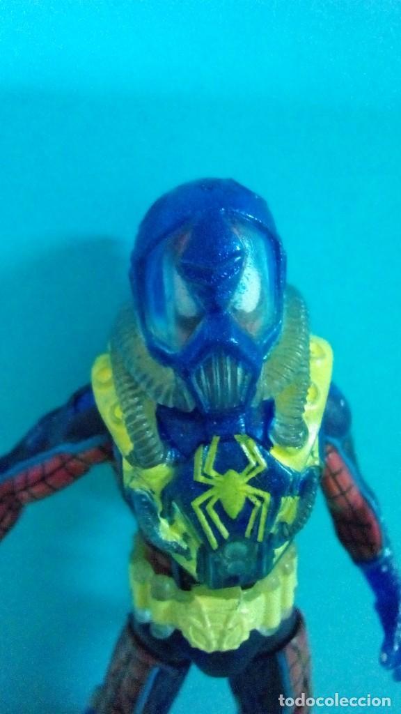 Figuras y Muñecos Marvel: figura marvel spiderman acuatico buzo - Foto 2 - 275026798