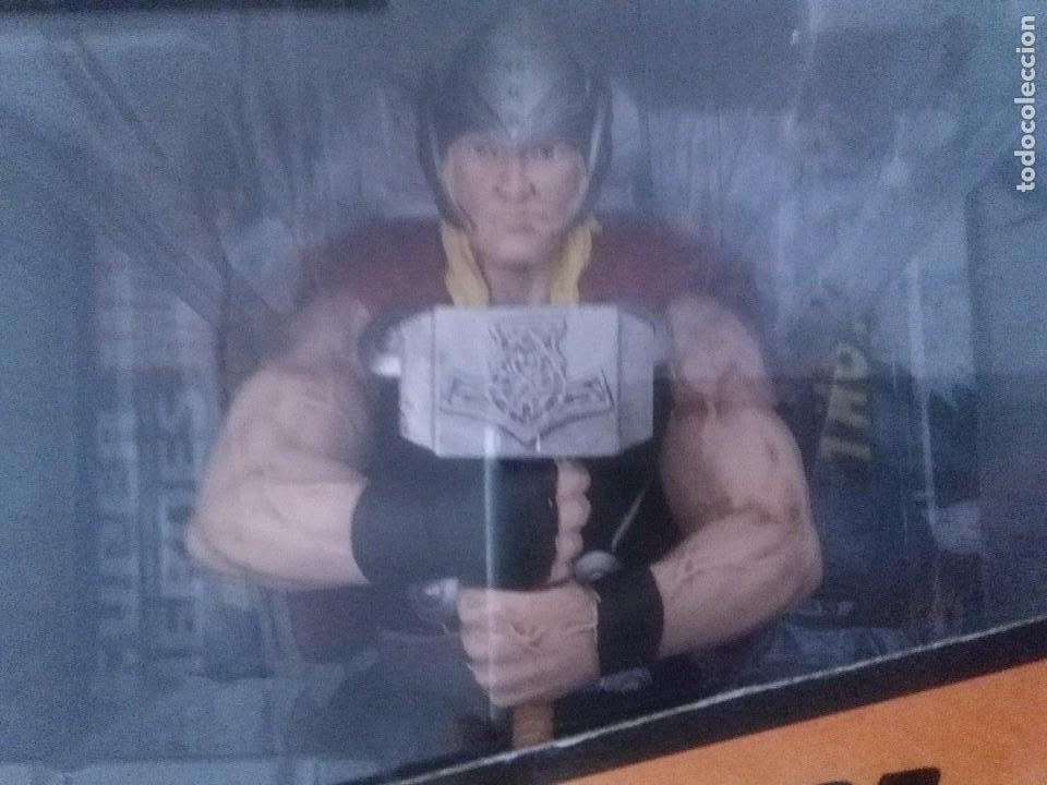 Figuras y Muñecos Marvel: SUPER HEROES MARVEL THOR FIGURA RESINA COLEECION ALTAYA. - Foto 2 - 276911493