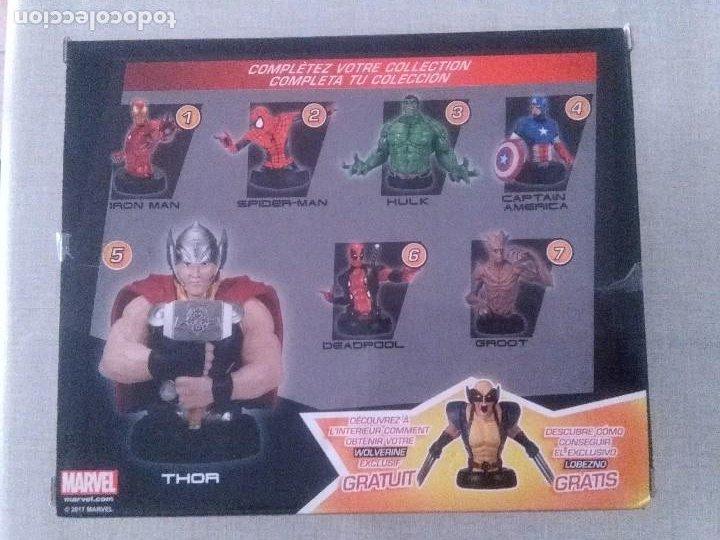 Figuras y Muñecos Marvel: SUPER HEROES MARVEL THOR FIGURA RESINA COLEECION ALTAYA. - Foto 3 - 276911493