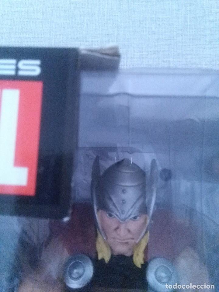 Figuras y Muñecos Marvel: SUPER HEROES MARVEL THOR FIGURA RESINA COLEECION ALTAYA. - Foto 8 - 276911493