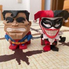 Figuras y Muñecos Marvel: SUPERMAN Y HARLEY QUINN FIGURAS TOTEM DE CRYTOZOIC. NUEVAS.. Lote 223113515