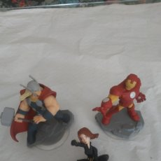 Figuras y Muñecos Marvel: 3 FIGURAS DISNEY INFINITY MARVEL 2.0. Lote 278350193