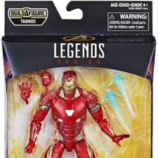 Figuras y Muñecos Marvel: FIGURA BUILD A FIGURE IRON MAN 15 CM - MARVEL LEGENDS SERIES - HASBRO. Lote 278415038