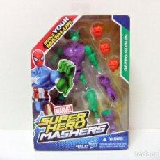 Figuras y Muñecos Marvel: FIGURA GREEN GOBLIN - MARVEL SUPER HERO MASHERS HASBRO - MUÑECO DUENDE VERDE SPIDERMAN SPIDER-MAN. Lote 278561273