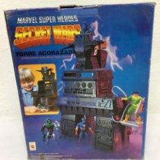 Figuras y Muñecos Marvel: MARVEL SECRET WARS TORRE ACORAZADA.AÑOS 80, NUEVA. SIN ESTRENAR... Lote 288397818