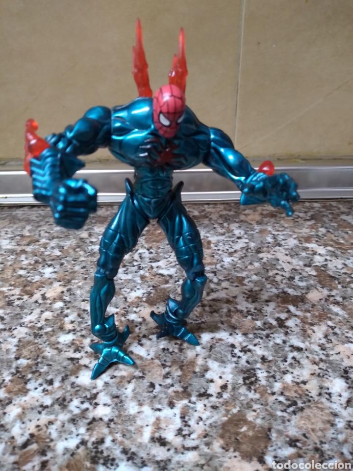 FIGURA SPIDERMAN MATTEL 1999 TOY BIZ (Juguetes - Figuras de Acción - Marvel)