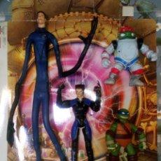 Figuras y Muñecos Marvel: LOTE DE 4 FIGURAS MARVEL-TORTUGAS NINJA CON DEFECTOS, PARA PIEZAS O REPARAR. Lote 291040048