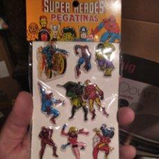 Figuras y Muñecos Marvel: PEGATINAS ANTIGUA RELIEVE MARVEL. Lote 294059928