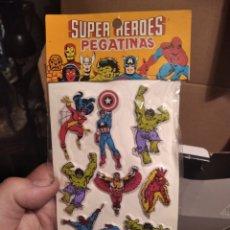 Figuras y Muñecos Marvel: PEGATINAS MARVEL EN RELIEVE. Lote 294060283