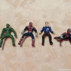 Figuras y Muñecos Marvel: FIGURAS SPIDERMAN MINI FIGURAS DUENDE VERDE HOMBRE DE ARENA. Lote 294096798