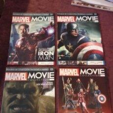 Figuras y Muñecos Marvel: MARVEL MOVIE COLLECTION FASCÍCULOS 1, 2, 3 Y GUÍA DE LA COLECCIÓN - ALTAYA. Lote 295941253