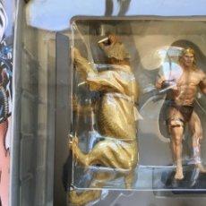 Figuras y Muñecos Marvel: KA-ZAR Y ZABU FIGURA ESPECIAL EAGLEMOSS. Lote 295946673