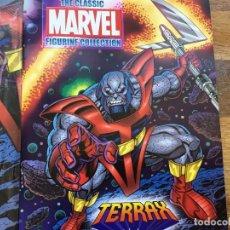 Figuras y Muñecos Marvel: TERRAX FIGURA SUPER ESPECIAL EAGLEMOSS. Lote 295980808