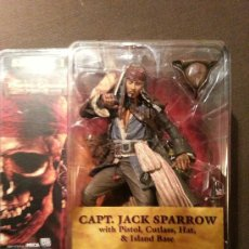 Figuras y Muñecos Mcfarlane: MCFARLANE MOVIE MANIACS.JACK SPARROW. PIRATAS DEL CARIBE. BLISTER SIN DESPRECINTAR!!!. Lote 36507689