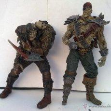 Figuras y Muñecos Mcfarlane: FIGURAS DESCATALOGADAS MCFARLANE PIRATA MALDITO Y FRANKESTEIN. Lote 49049150