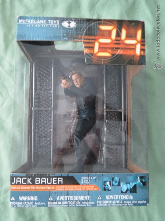 JACK BAUER DELUXE BOXED SET ACTION FIGURE MCFARLANE 2007 SIN BOLSO NI CAJAS DE MADERA (Juguetes - Figuras de Acción - Mcfarlane)