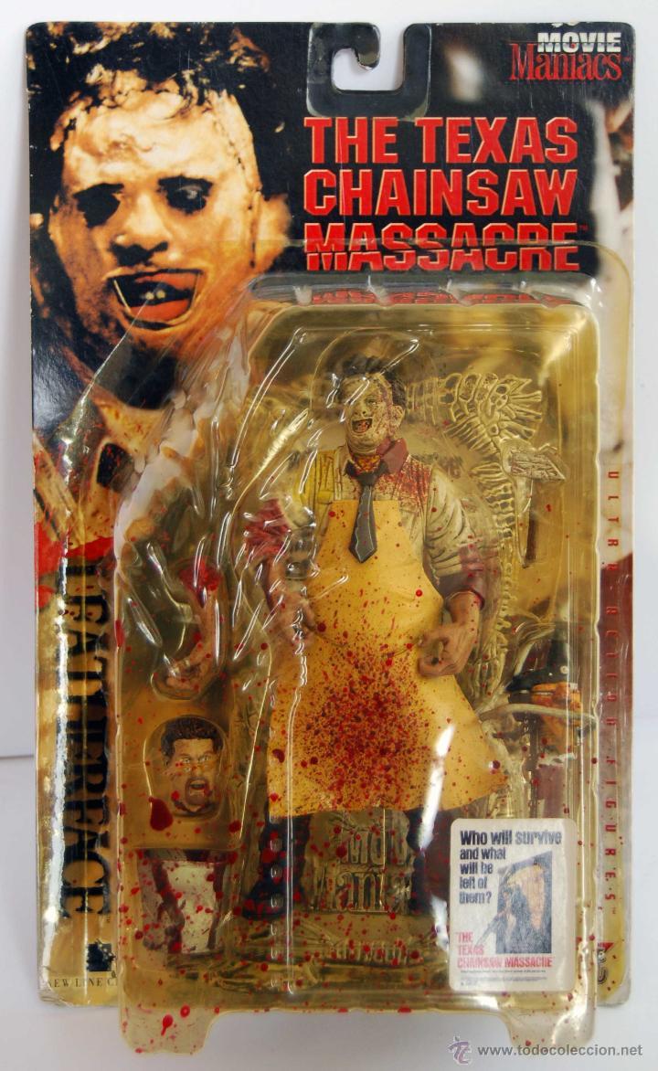LEATHERFACE LA MATANZA DE TEXAS MOVIE MANIACS MCFARLANE TOYS NUM 150800 NUEVO Y SIN ABRIR AÑO 1998 (Juguetes - Figuras de Acción - Mcfarlane)