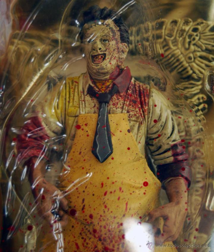 Figuras y Muñecos Mcfarlane: LEATHERFACE LA MATANZA DE TEXAS MOVIE MANIACS MCFARLANE TOYS NUM 150800 NUEVO Y SIN ABRIR AÑO 1998 - Foto 2 - 53369912