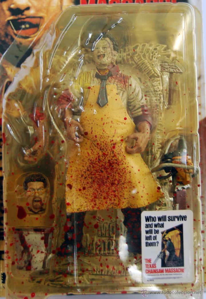 Figuras y Muñecos Mcfarlane: LEATHERFACE LA MATANZA DE TEXAS MOVIE MANIACS MCFARLANE TOYS NUM 150800 NUEVO Y SIN ABRIR AÑO 1998 - Foto 3 - 53369912