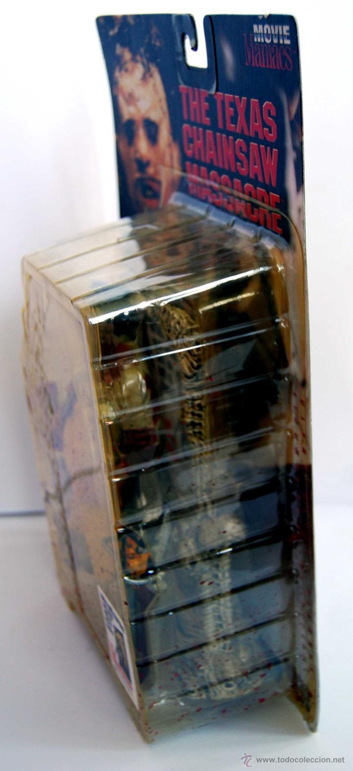 Figuras y Muñecos Mcfarlane: LEATHERFACE LA MATANZA DE TEXAS MOVIE MANIACS MCFARLANE TOYS NUM 150800 NUEVO Y SIN ABRIR AÑO 1998 - Foto 6 - 53369912