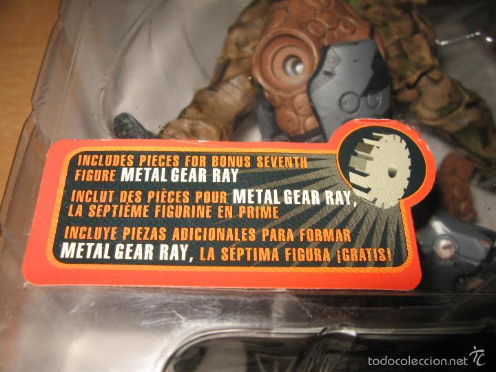 Figuras y Muñecos Mcfarlane: FIGURA OLGA METAL GEAR SOLID 2 + PARTE METAL GEAR RAY MCFARLANE AÑO 2001 PRECINTADA - Foto 3 - 55416336