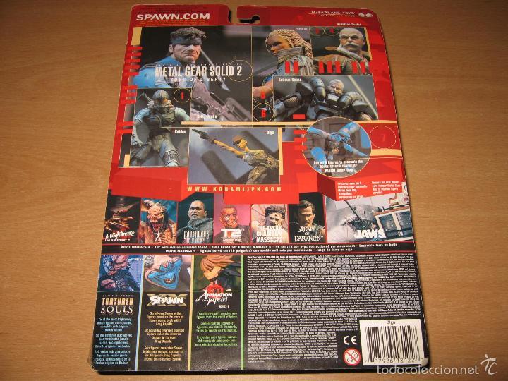 Figuras y Muñecos Mcfarlane: FIGURA OLGA METAL GEAR SOLID 2 + PARTE METAL GEAR RAY MCFARLANE AÑO 2001 PRECINTADA - Foto 4 - 55416336