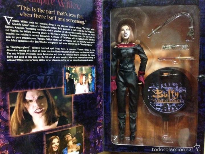 Figuras y Muñecos Mcfarlane: Buffy Cazavampiros sideshow Pvc y tela the vampire slayer figuras Willow y Oz 50€ unidad - Foto 3 - 192318990