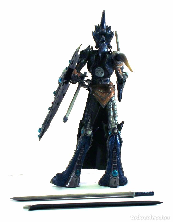 Figuras y Muñecos Mcfarlane: 2000 McFarlane Toys - Enorme figura de MANDARIN SPAWN (36 cm. aprox.) de Spawn: The Dark Ages - Foto 3 - 68229209