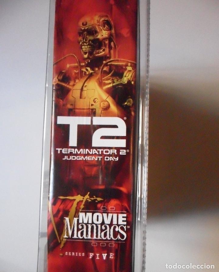 Figuras y Muñecos Mcfarlane: MOVIE MANIACS TERMINATOR 2 T-800 ENDOSKELETON FIGURA NUEVA EN BLISTER MCFARLANE 2002 - Foto 7 - 70209901