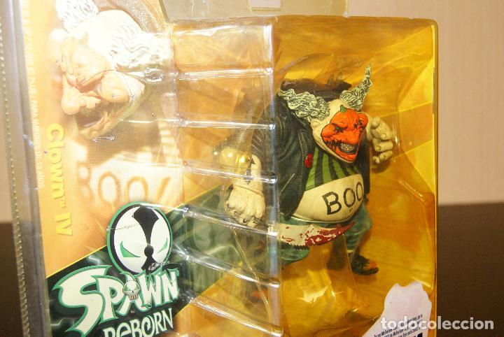 Figuras y Muñecos Mcfarlane: Spawn Reborn Series 1-Clown IV/4 (En caja)-2003 -Payaso/Halloween/Repainted/Repaint/Boxed/McFarlane - Foto 2 - 79832613