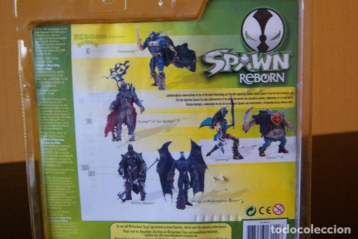 Figuras y Muñecos Mcfarlane: Spawn Reborn Series 1-Clown IV/4 (En caja)-2003 -Payaso/Halloween/Repainted/Repaint/Boxed/McFarlane - Foto 3 - 79832613