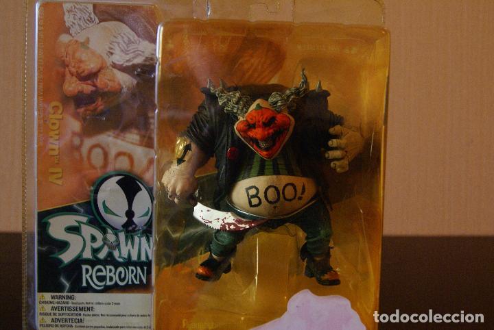 Figuras y Muñecos Mcfarlane: Spawn Reborn Series 1-Clown IV/4 (En caja)-2003 -Payaso/Halloween/Repainted/Repaint/Boxed/McFarlane - Foto 8 - 79832613