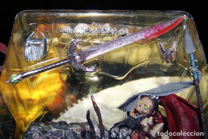 Figuras y Muñecos Mcfarlane: Spawn series 17-Classic Series 1-Medieval Spawn II/2-2000-Guerrero/Berserk/Berserker/McFarlane - Foto 13 - 79932097