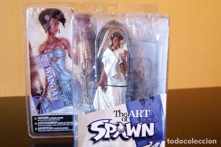 SPAWN SERIES 27-THE ART OF SPAWN-WANDA II/2 (ISSUE 65# INTERIOR ART) (EN CAJA)- 2005-BOXED/MCFARLANE (Juguetes - Figuras de Acción - Mcfarlane)
