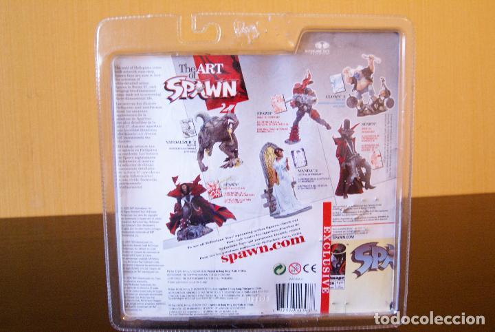 Figuras y Muñecos Mcfarlane: Spawn series 27-The Art of Spawn-Wanda II/2 (Issue 65# interior art) (En caja)- 2005-Boxed/McFarlane - Foto 2 - 79937829