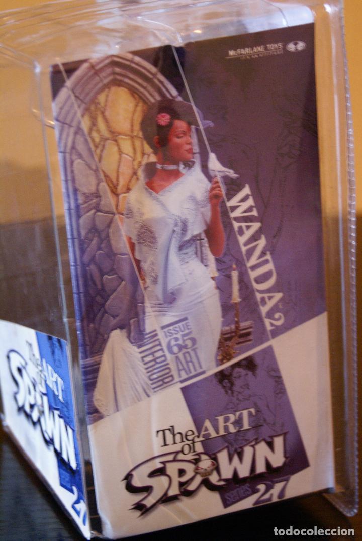 Figuras y Muñecos Mcfarlane: Spawn series 27-The Art of Spawn-Wanda II/2 (Issue 65# interior art) (En caja)- 2005-Boxed/McFarlane - Foto 4 - 79937829