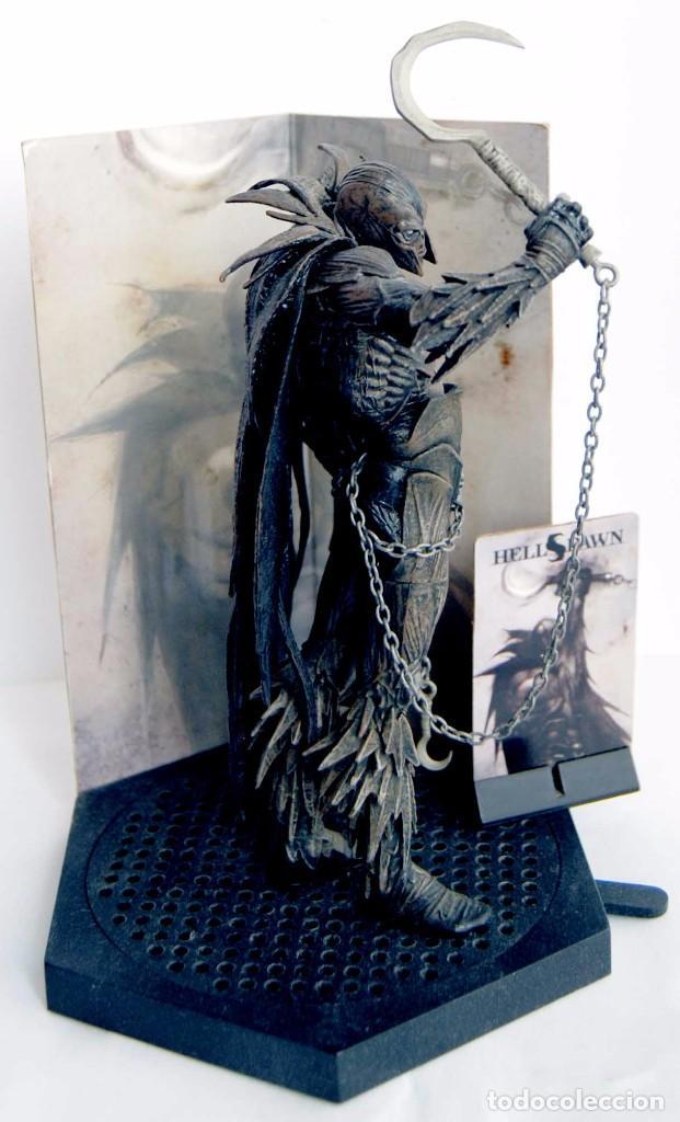 Figuras y Muñecos Mcfarlane: FIGURA SPAWN SERIES 25 CLASSIC COMIC COVERS 2 SPAWN HELLSPAWN ISSUE 2004 HELL RAVEN MCFARLANE MC - Foto 4 - 86110552