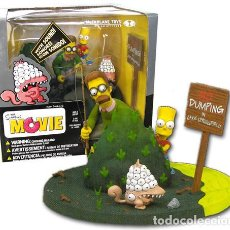 Figuras y Muñecos Mcfarlane: THE SIMPSONS MOVIE: BART AND NED FLANDERS - WHAT ARE YOU LOOKING AT? MCFARLANE. Lote 120908071