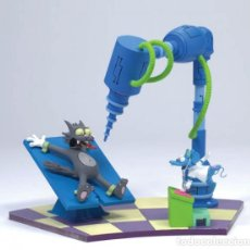 Figuras y Muñecos Mcfarlane: RASCA Y PICA THE SIMPSONS: BOXED SET - ITCHY AND SCRATCHY – MCFARLANE. Lote 120908451