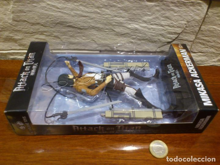 Figuras y Muñecos Mcfarlane: ATAQUE A LOS TITANES - ATTACK ON TITAN - MIKASA ACKERMAN - FIGURA - FUNIMATION - MCFARLANE - NUEVA - Foto 28 - 149970586