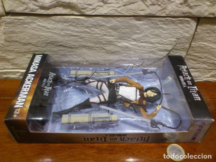 Figuras y Muñecos Mcfarlane: ATAQUE A LOS TITANES - ATTACK ON TITAN - MIKASA ACKERMAN - FIGURA - FUNIMATION - MCFARLANE - NUEVA - Foto 29 - 149970586