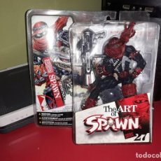 Figuras y Muñecos Mcfarlane: THE ART OF SPAWN SIN SACAR DE LA CAJA 2005 MC FARLANE. Lote 165310318