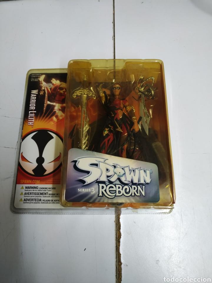 SPAWN REBORN, SERIE 3 FIGURA, WARRIOR LILITH(MACFARLANE TOYS) (Juguetes - Figuras de Acción - Mcfarlane)