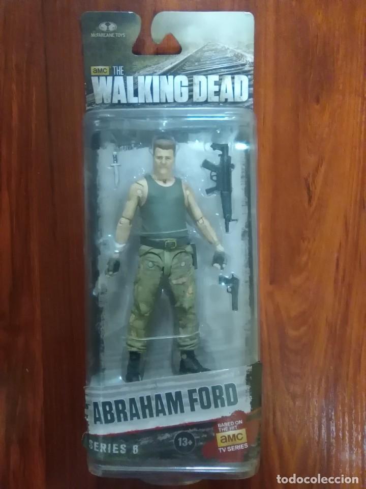 ABRAHAM FORD - THE WALKING DEAD - MCFARLANE TOYS - SERIE 6 - NUEVA (Juguetes - Figuras de Acción - Mcfarlane)
